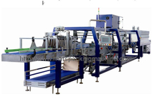 Automatic Shrink Packing Machine with Tray Auto Insertion