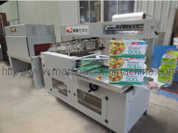 Automatic POF Film Full Wrapping Machine